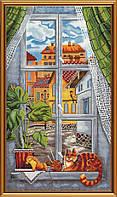 Котейка на окне ННД 1091