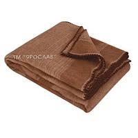 Одеяло из верблюжьей шерсти большое  с принтом 170х205