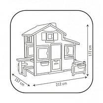 Большой детский дом с чердаком и звонком Friends House Smoby 310209, фото 2