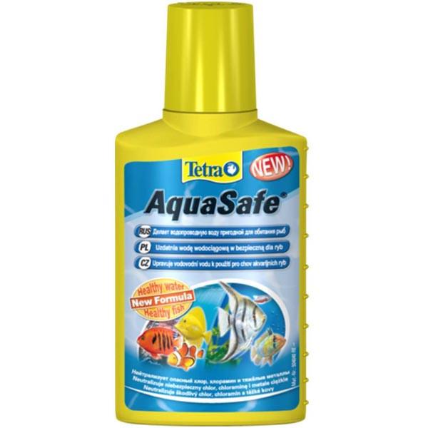 Tetra AQUA SAFE 500ml - средство для подготовки воды в аквариум (на 1000 л) - Интернет-магазин «Моё дело» в Харькове
