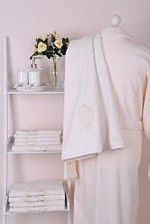 Банный халат Gül Güler Roset Vanilla (размер S/M/L и XL/XXL)