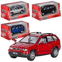 Машина металл kinsmart kt5020w bmw x5 в коробке 16*8*7,5см