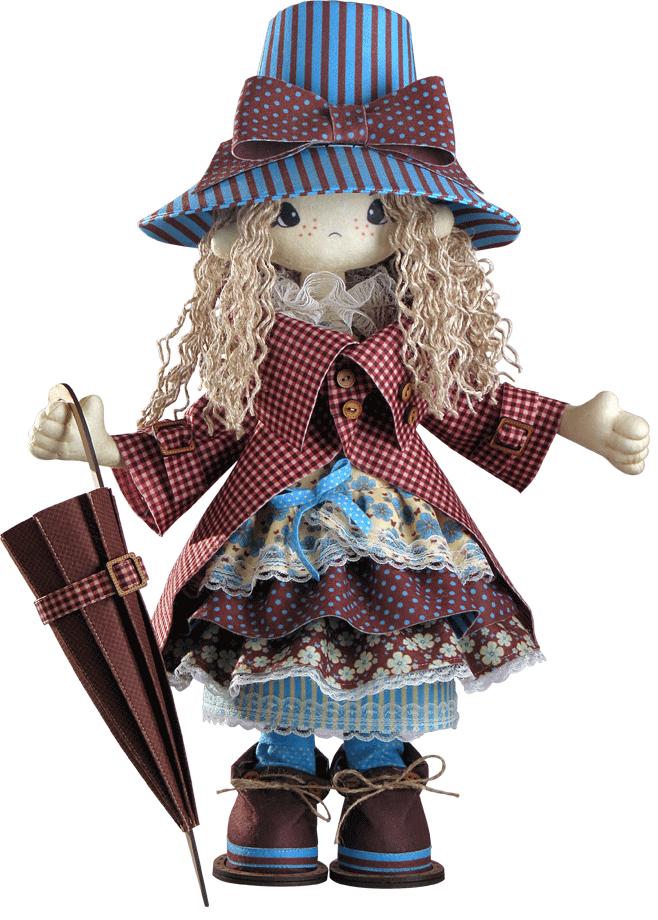Текстильная каркасная кукла Мэри К 1027 - Интернет-магазин «ВЫШИВАЙ-ка» в Харькове