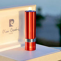 Женская зажигалка Pierre Cardin Франция оранжевый металлик