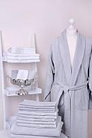 Банный халат Gül Güler Yeni Arma Grey (размер S/M/L и XL/XXL)