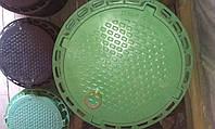 Люк садовый 1,5 (зеленый) Z, фото 1