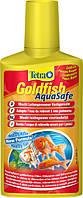 Tetra AQUA SAFE Gold 100ml - подготовка воды для золотых рыб в аквариуме (на 200 л)