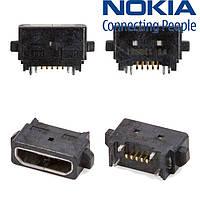 Коннектор зарядки для Nokia 920 Lumia, оригинал