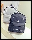 Городской рюкзак с грустным принтом., фото 2