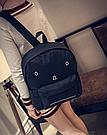 Городской рюкзак с грустным принтом., фото 4