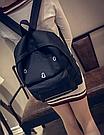 Городской рюкзак с грустным принтом., фото 5