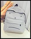 Городской рюкзак с грустным принтом., фото 6