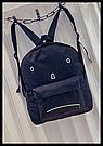 Городской рюкзак с грустным принтом., фото 7