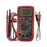 Профессиональный цифровой мультиметр тестер DT VC 61 с функцией измерения температуры, цифровой мультиметр