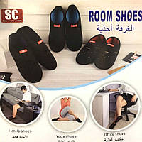 Тапочки неопреновые Room Shoes SC (тапки Рум Шуз) домашние, для кораллов, пляжные, для моря, для плаванья 1001533, Room Shoes S, обувь, обувь киев,
