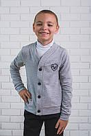 Кофта для мальчика светло-серая, фото 1