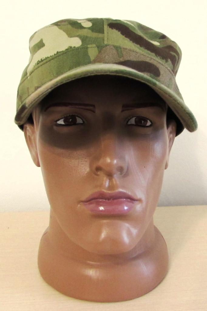 Кепка летняя в универсальном камуфляже армии Великобритании - MTП (негорючая ткань)