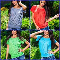 Женская блуза прошва Лодочка 2436