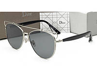 Солнцезащитные очки Dior Technologic silver