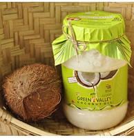Кокосовое масло пищевое (пластиковая банка), ТМ Green Valley (250 г)