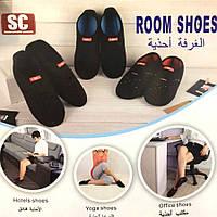 ВАШ ВЫБОР! Тапочки неопреновые Room Shoes SC (тапки Рум Шуз) домашние, для кораллов, пляжные, для моря, для плаванья 1001533, Room Shoes S, обувь,
