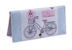Кошелек женский Велосипед (пресс.кожа), 1 шт