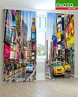 Фотошторы такси в Бруклине 3D