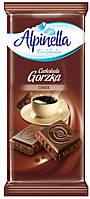 Черный шоколад Alpinella «Czekolada Gorzka» DARK, 90 г
