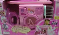 Набор 2028 стиральная машинка+утюг+доска гладильная в коробке 38,5*16*24см