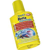 Tetra Betta AquaSafe 100ml - кондиционер для подготовки воды в аквариум