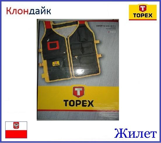 Жилет TOPEX 79R255 - Клондайк в Харькове