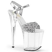 Высокая обувь для стриптиза. Модель FLAMINGO