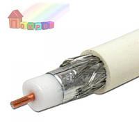 TV кабель RIGHT HAUSEN 64%  медь белый 141031 (2000000059884)