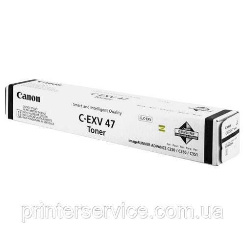 Тонер Canon C-EXV 47 Black для ir-adv C250i/ C350i (8516B002)