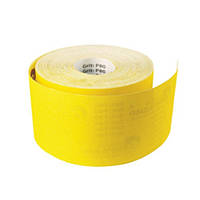 Шлифовальная шкурка Р100 на бумажной основе (жёлтая) 115 мм х 50 м (2000000066677)