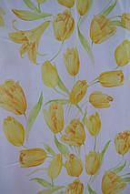 """Тюль вуаль """" Тюльпан"""" желтый, фото 3"""