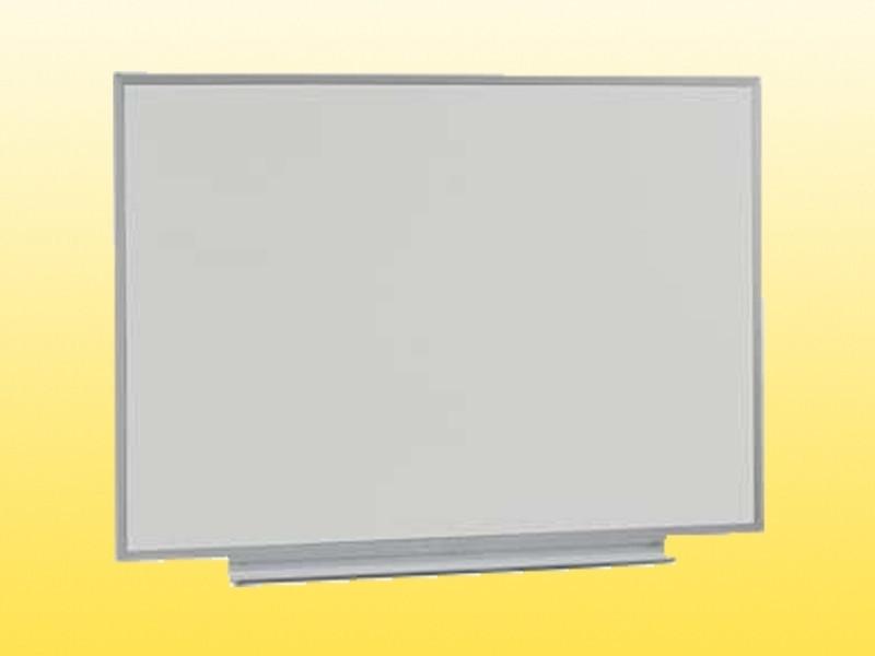Доска аудиторная, одинарная, магнитная белая, под маркер 1000х750 мм.