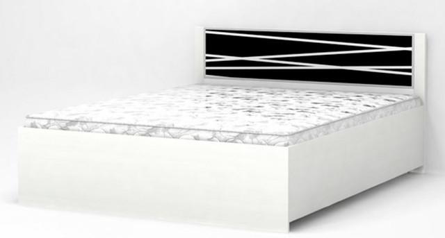Кровать двуспальная Горизонт с рамкой