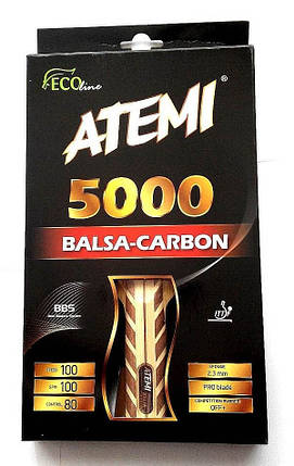Ракетка для настольного тенниса ATEMI PRO ECO LINE 5000C, фото 2