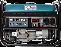 Генератор гибридный:бензин/газ Könner&Söhnen KS 3000 G (3,0 кВт)