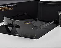 Солнцезащитные очки в стиле в стиле Porsche Design  (p-8718) black, фото 1