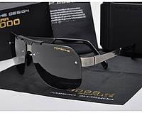 Солнцезащитные очки в стиле Porsche Design  (p-8718) silver, фото 1
