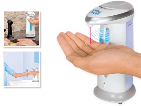 Сенсорный дозатор для жидкого мыла  Soap Magic