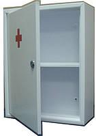 Аптечка металлическая с одной полочкой, см: 30х39х12