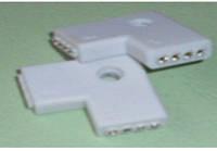 Соединитель для св.ленты угловой Lemanso 5050 12V/LM817