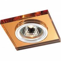 Спот Lemanso AL 8152 R39SG золото (квадратное стекло)