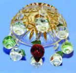 Спот Lemanso JD63 цветное стекло