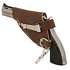Зажигалка револьвер в кобуре. ZM6038, фото 2