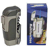 Зажигалка ножик, открывашка, штопор ZG4063