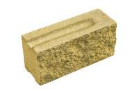 Кирпич декоративный модульный ЭЛИТ цвет на белом цементе (желтый, бежевый, персик.,розов., белый, морковн.)